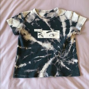 Brandy Melville Tie/Dyed Graphic Tshirt